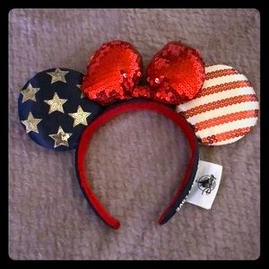 Disney Minnie Mouse Patriotic Headband